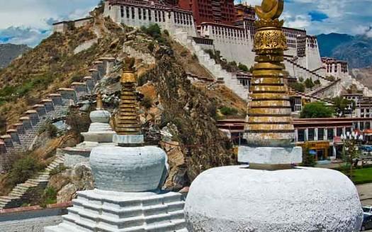 Palacio de Potala, Lhasa (Tíbet) - Antoine Taveneaux