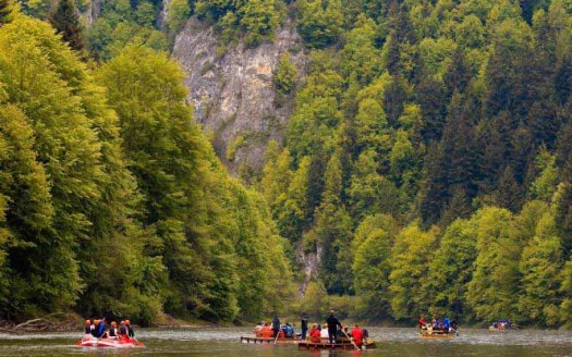Río Dunajec, Polonia