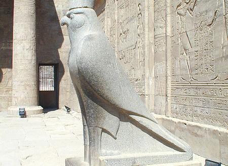 Estatua de Horus, Edfu (Egipto) - Florian Hofmann