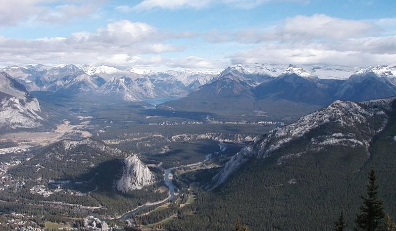 Sulphur Mountain, Banff (Canadá) - D'Arcy Norman from Calgary Canada | namasteviajes.com