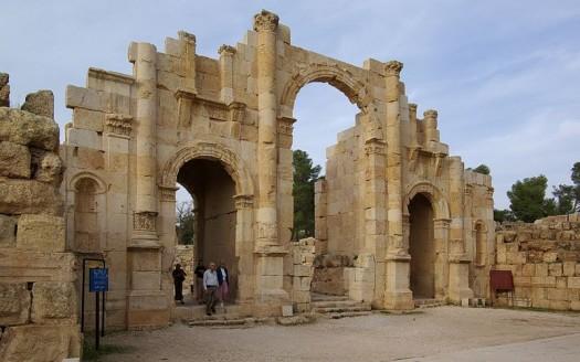 Puerta del Sur, Jerash (Jordania) - Berthold Werner | namasteviajes.com