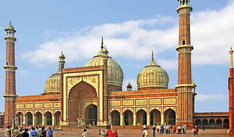 Jama Masjid, Delhi (India) - Dennis Jarvis from Halifax Canada | namasteviajes.com