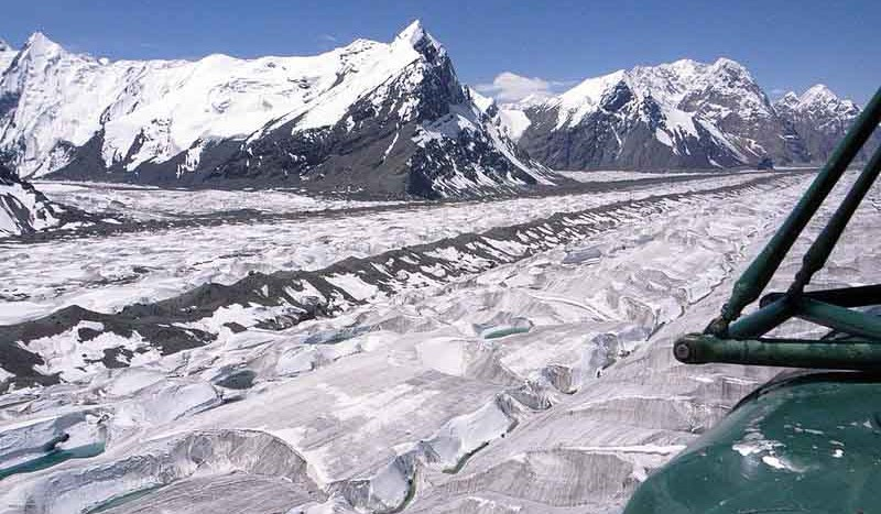 Glaciar Komsomolez, Kirguistán - Chen Zhao   namasteviajes.com