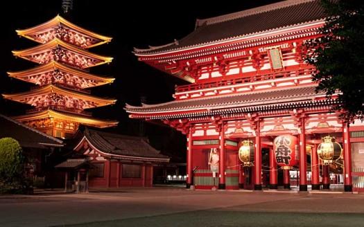 Templo de Asakusa Kannon, Tokyo (Japón) - User: (WT-shared) Trsqr de wts wikivoyage | namasteviajes.com