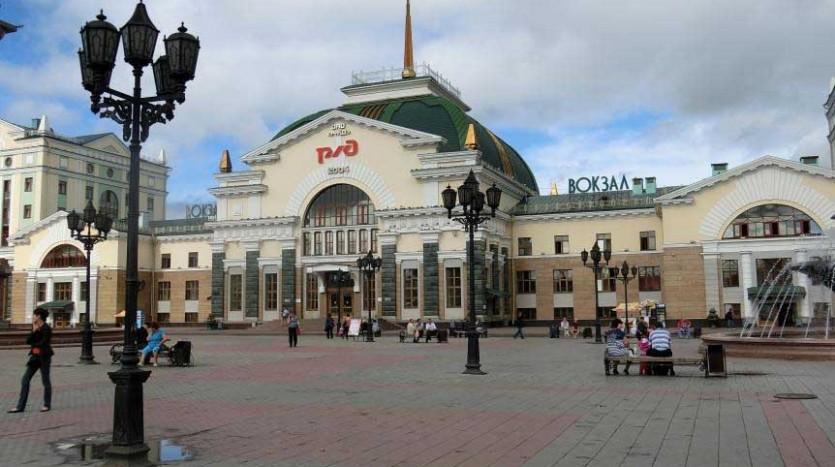 Estación de Ferrocarril de Krasnoyarsk | namasteviajes.com
