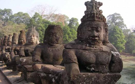 Angkor Tom, Siem Reap (Camboya) - Yosemite Creative Commons Genérica de Atribución/Compartir Igual 3.0 | namasteviajes.com