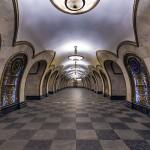 Metro de Moscú, Rusia - Alex 'Florstein' Fedorov | namasteviajes.com