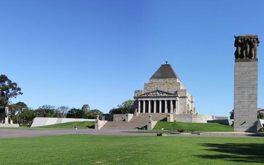 Santuario de la Conmemoración, Melbourne (Australia) - Donaldyting Creative Commons Attribution-Share Alike 3.0 Unported | namasteviajes.com