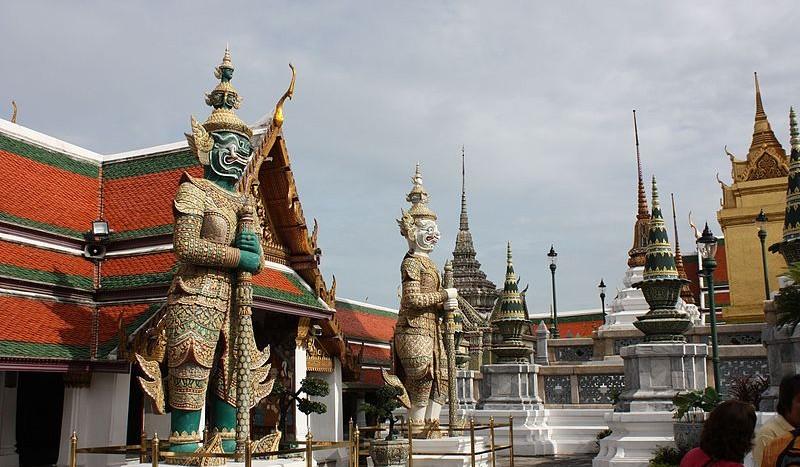 Palacio Real de Bangkok, Tailandia - F.J.OGALLAR | namasteviajes.com