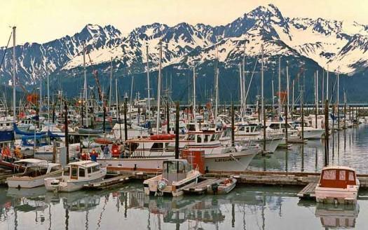 Puerto pesquero de Seward, Alaska (EEUU) - Ronald J Scott, Creative Commons Atribution-Share Alike 4.0 International, 3.0 Unported, 2.5 Generic, 2.0 Generic and 1.0 Generic | namasteviajes.com