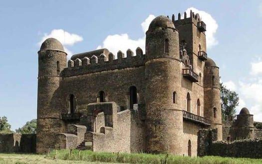 Palacio de Fasilides, Gondar (Etiopía) - Bernard Gagnon, Creative Commons Attribution-Share Alike 3.0 Unported, 2.5 Generic, 2.0 Generic and 1.0 Generic | namasteviajes.com
