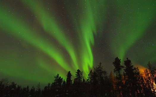 Auroras boreales en Yellowknife, Canadá- Kaz Ish | namasteviajes.com