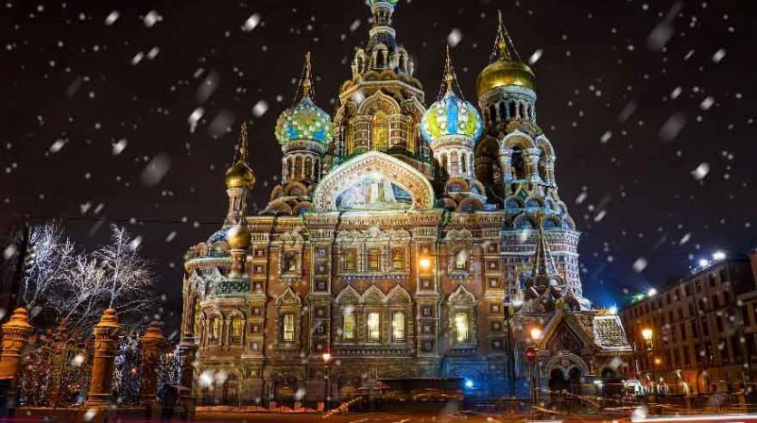 Catedral del Cristo Salvador de la Sangre, San Petersburgo (Rusia) - Eurasia Trains & Travel | namasteviajes.com