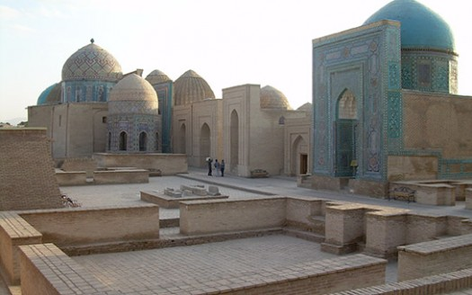 Complejo aruitectónico Shaji Zinda, Samarcanda (Uzbekistán) | namasteviajes.com