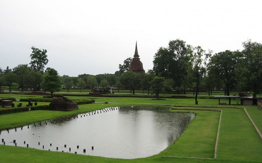 Sukhothai, Tailandia - Caspar, Creative Commons Atribution ShareAlike 2.5