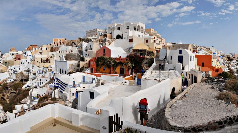 Santorini, Grecia - Mstsylav Chernov, Creative Commons Attribution-Share Alike 3.0 Unported license. | namasteviajes.com